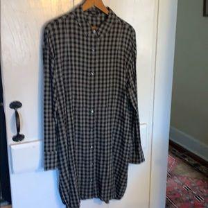 Theory shirt dress